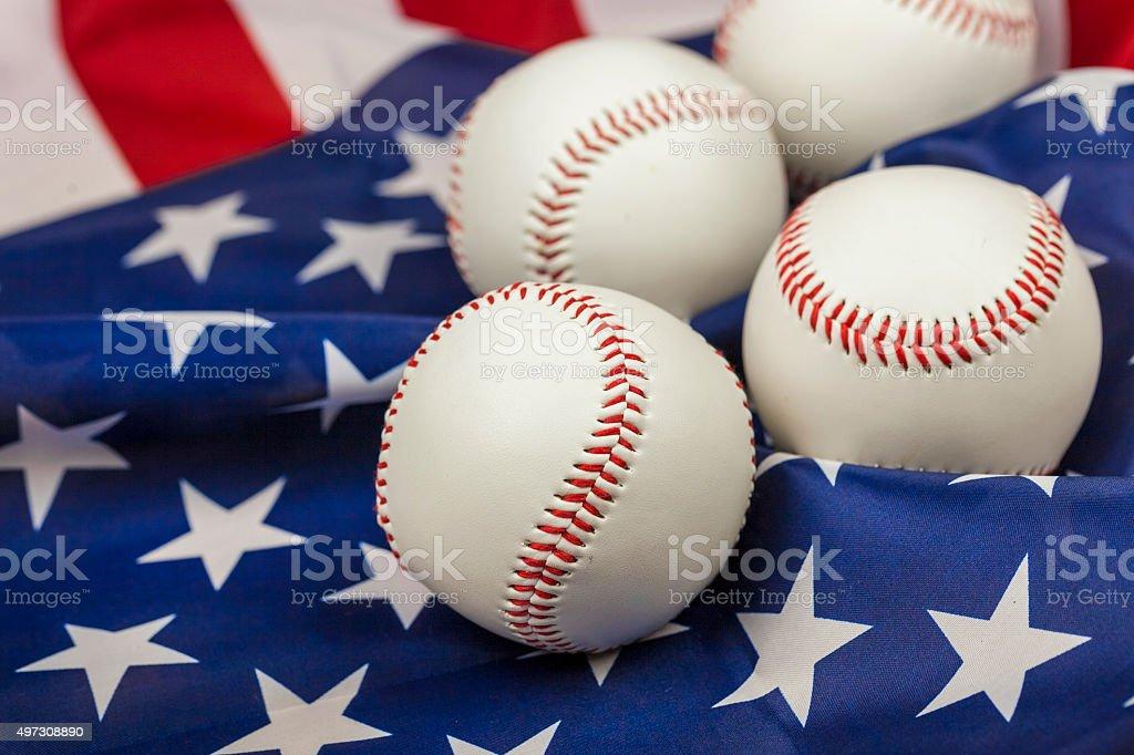 Baseball Background stock photo