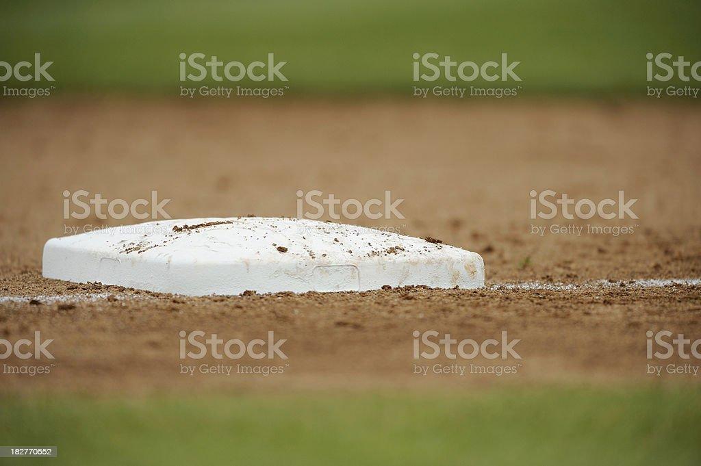 Baseball Base royalty-free stock photo