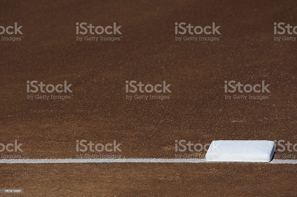 Baseball Base stock photo