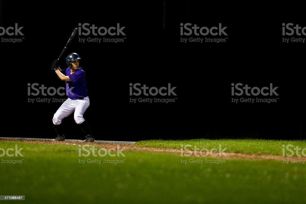 Baseball Batter royalty-free stock photo