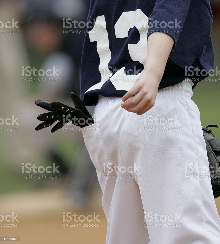 Baseball Batting Gloves stock photo