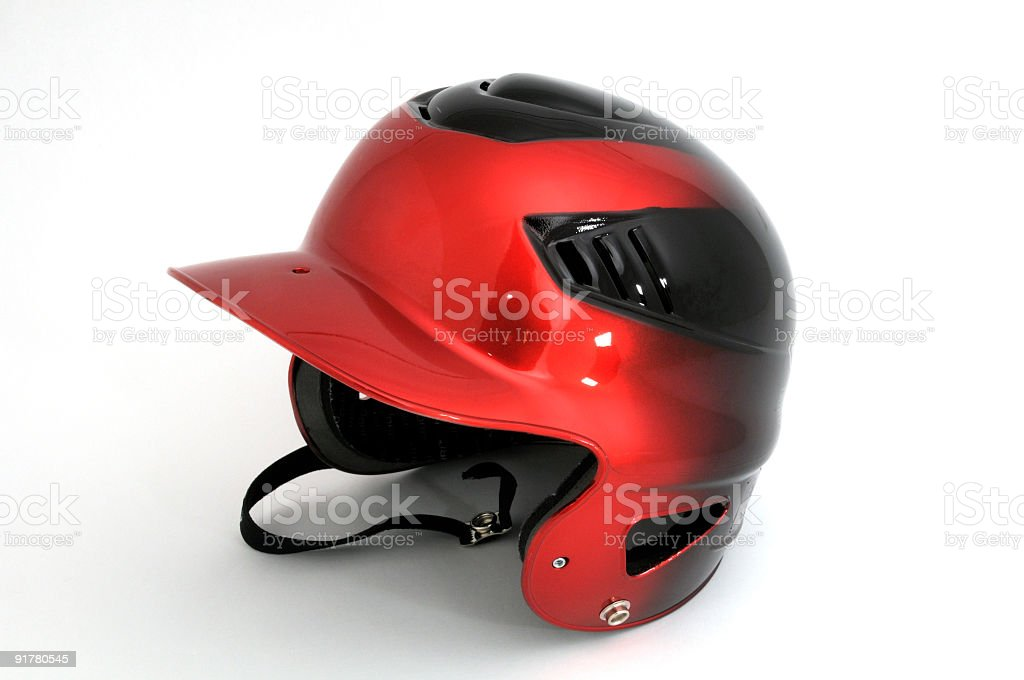 Baseball Batting Helmet stock photo