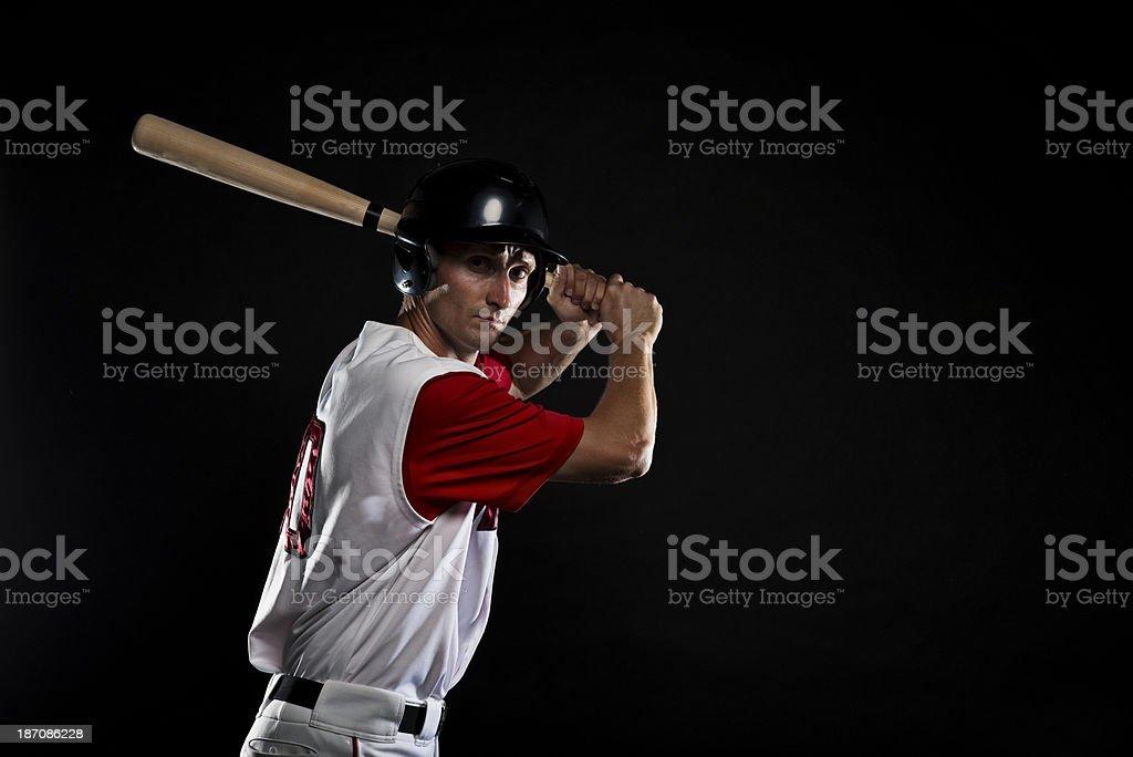 Baseball Batting royalty-free stock photo