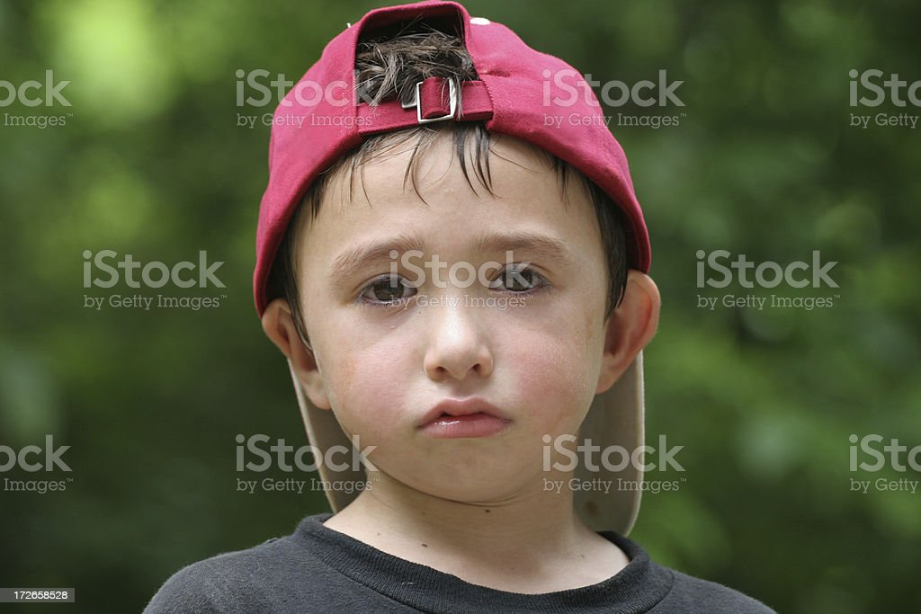 Baseball boy 2 stock photo