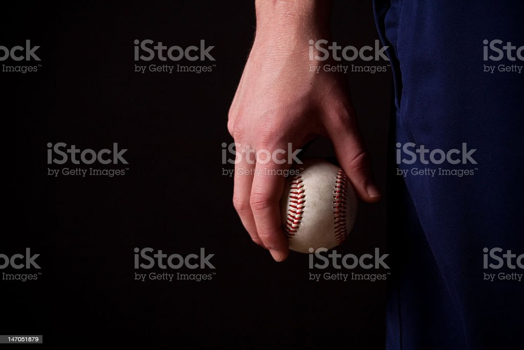Baseball By My Side royalty-free stock photo