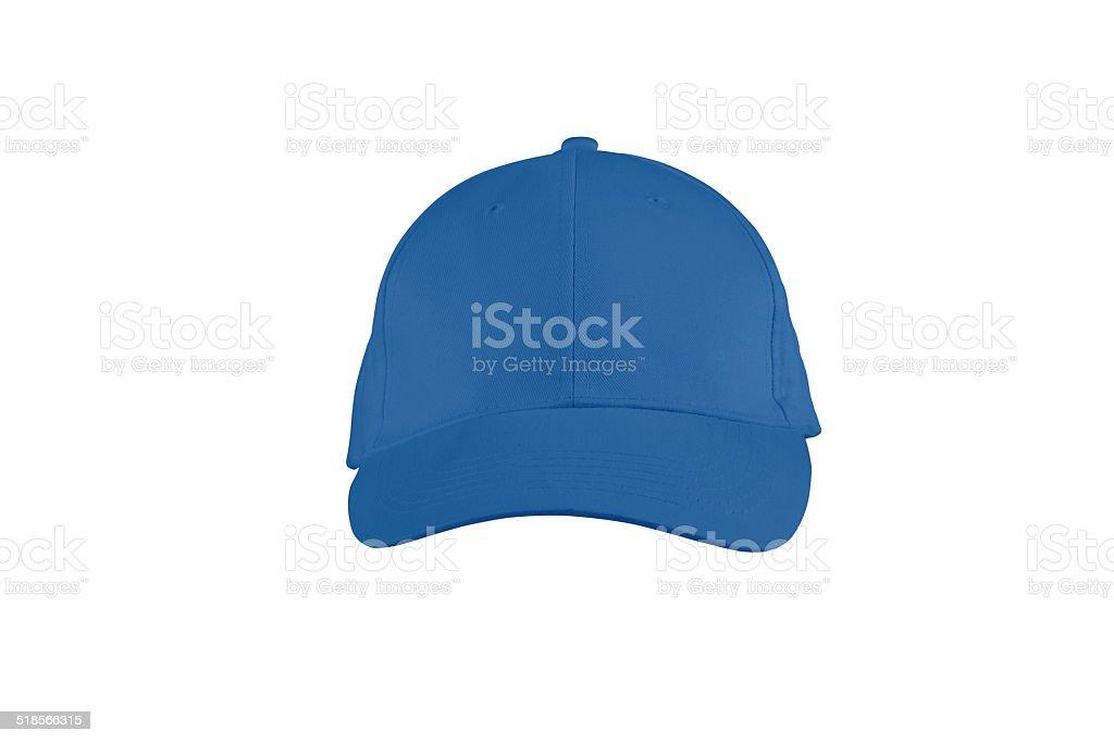 baseball cap isolated on white stock photo