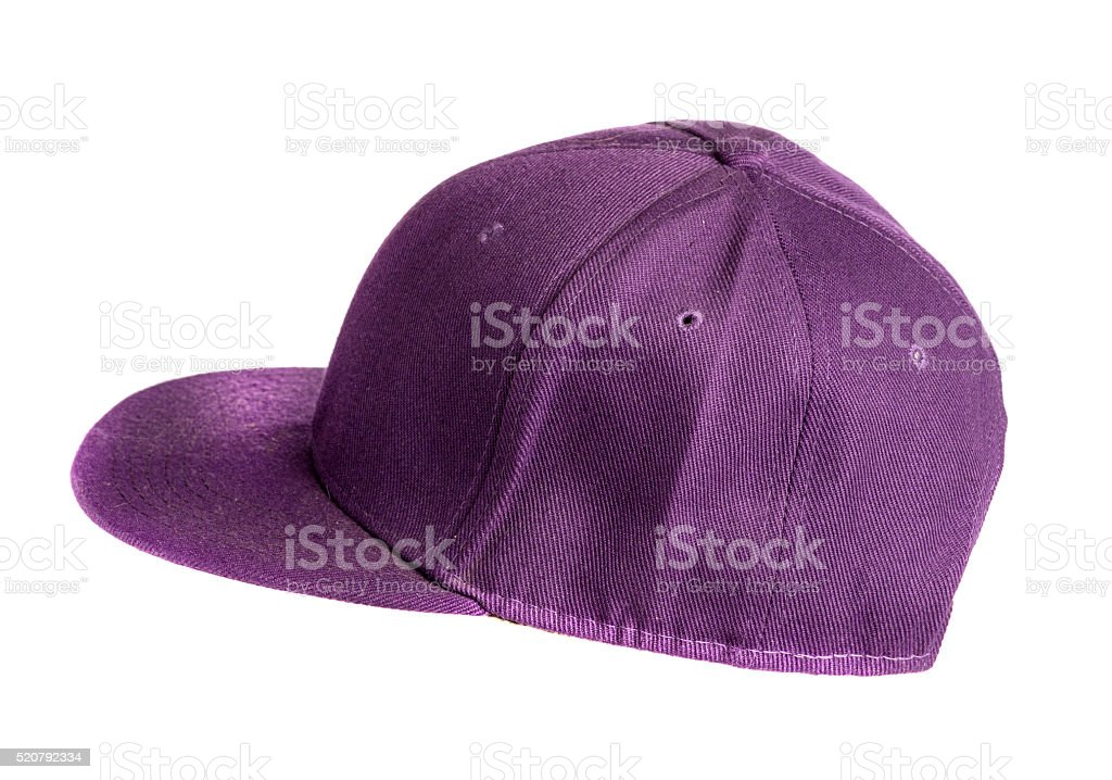 baseball cap  on white background. stock photo