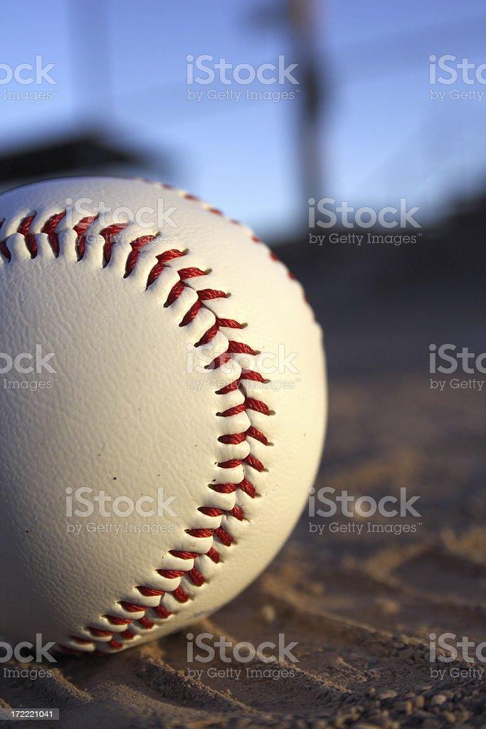 baseball close up royalty-free stock photo
