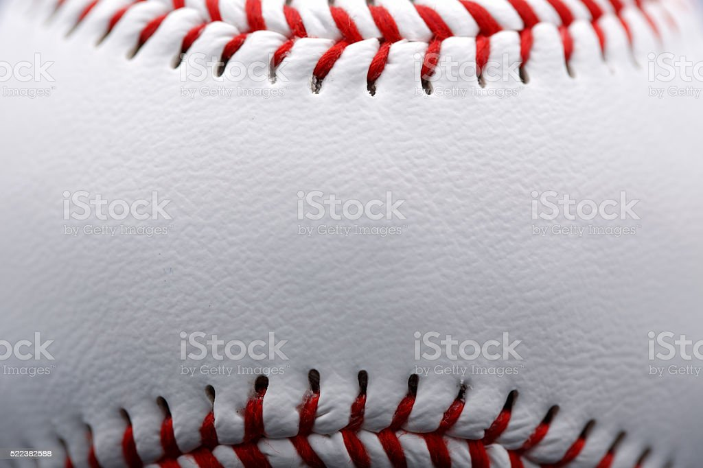 Baseball Close up stock photo