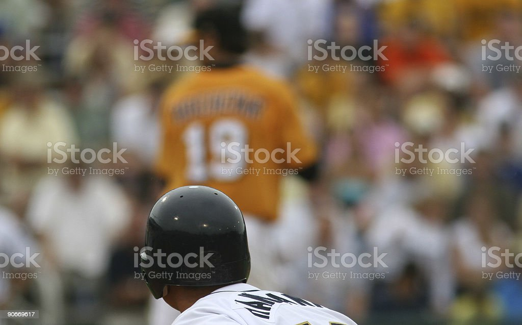 Baseball colors stock photo