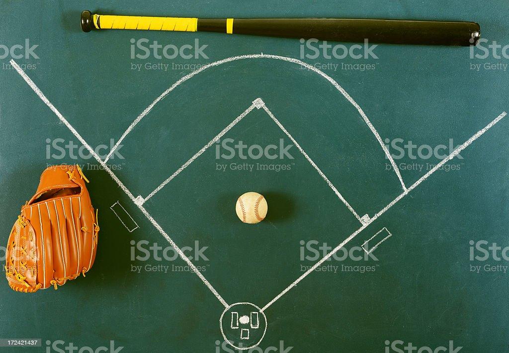 Baseball Concept royalty-free stock photo