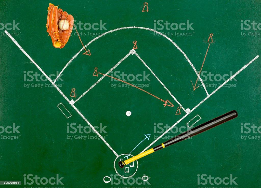 Baseball concept stock photo