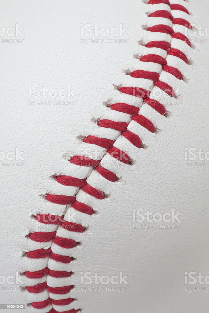 baseball detail stock photo