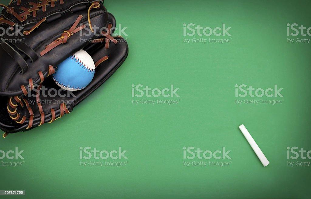 Baseball Diamond Concept stock photo