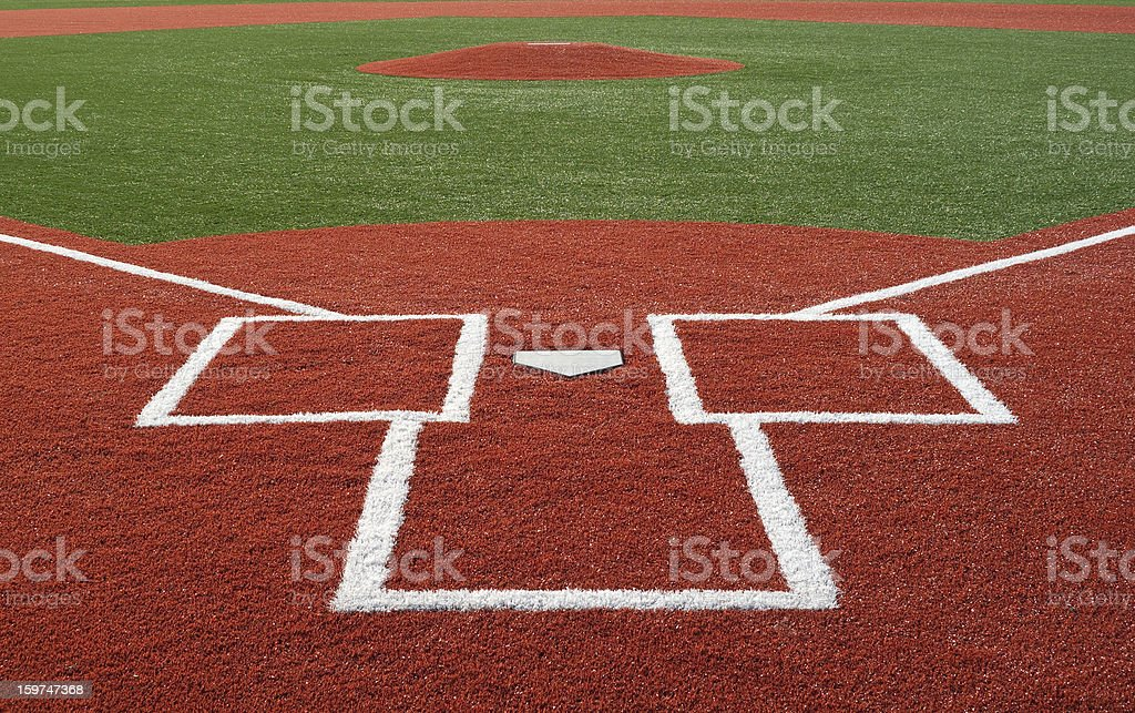 Baseball Diamond stock photo