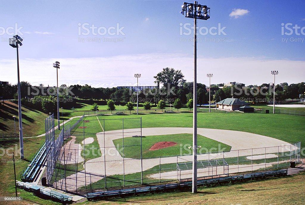 Baseball Diamond royalty-free stock photo