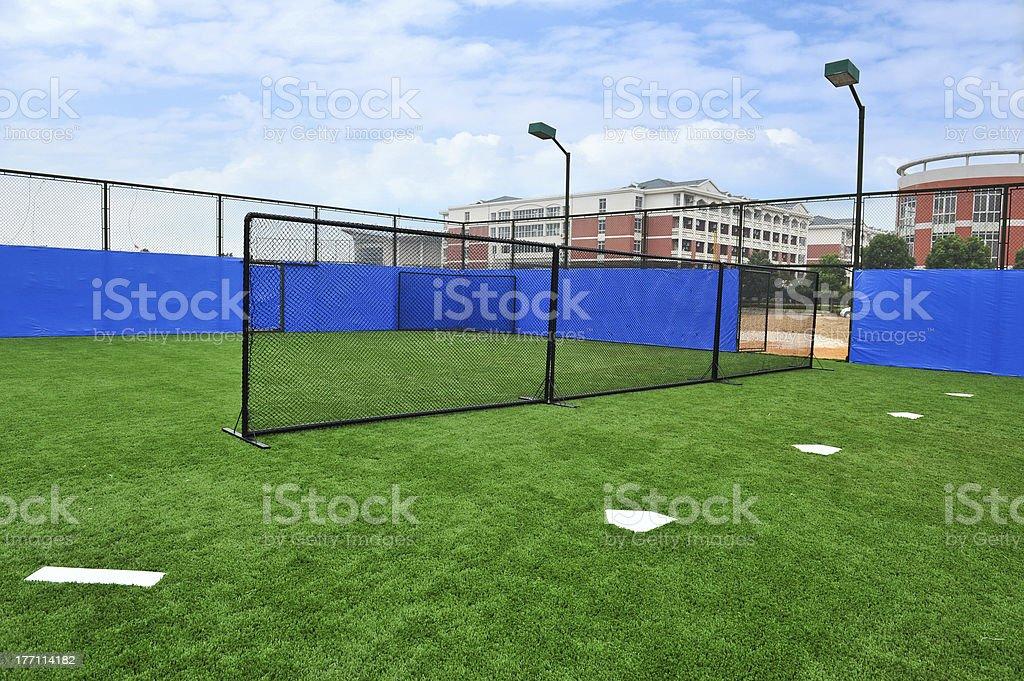 Baseball Driving Range royalty-free stock photo