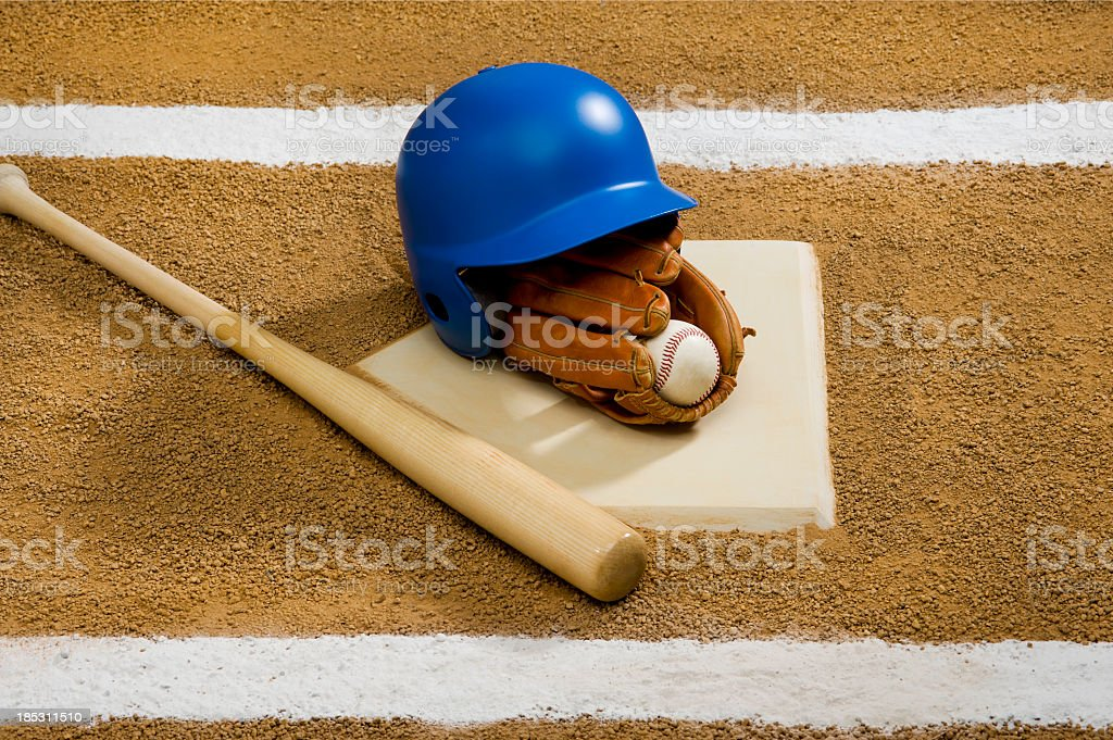Baseball - Equipment stock photo