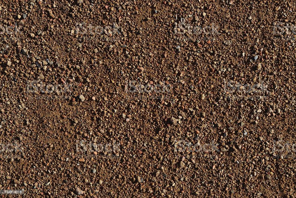 Baseball Field Dirt stock photo