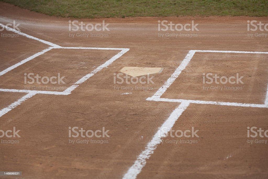 Baseball Field royalty-free stock photo
