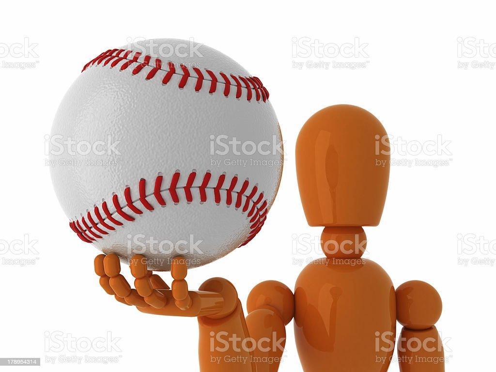Baseball for you. royalty-free stock photo