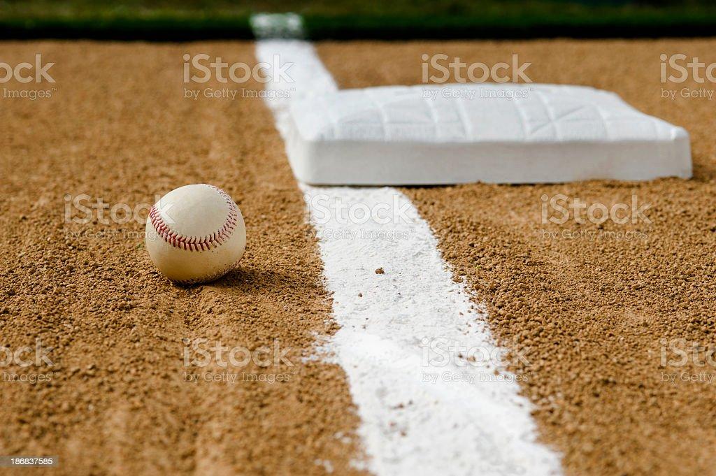 Baseball - Foul Ball stock photo