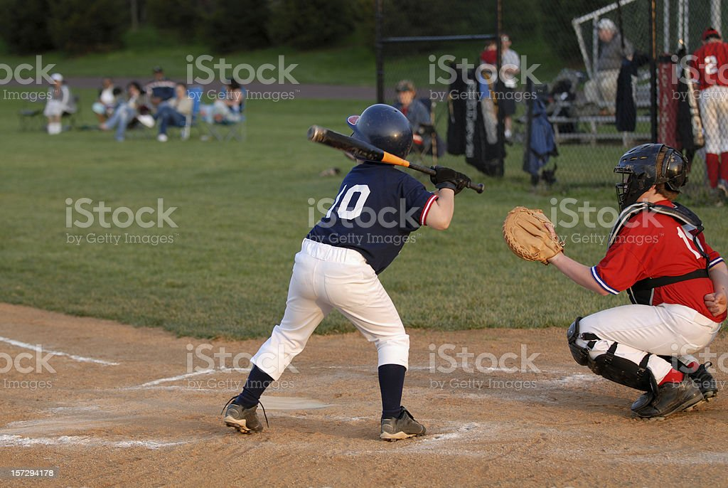 Baseball Game royalty-free stock photo