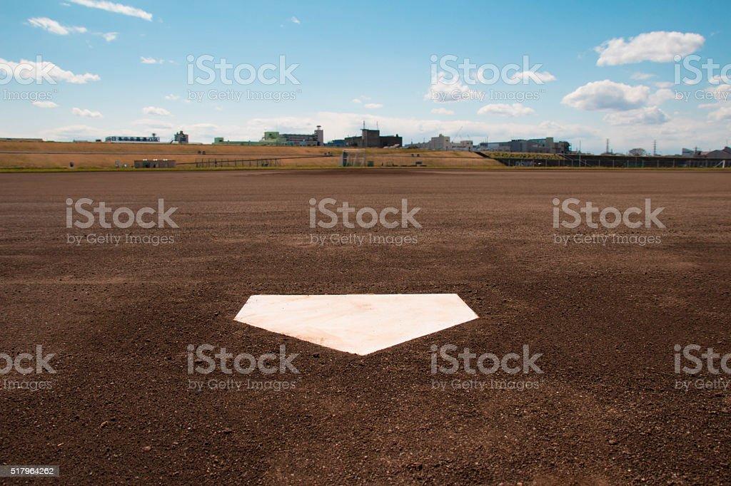 baseball Ground stock photo
