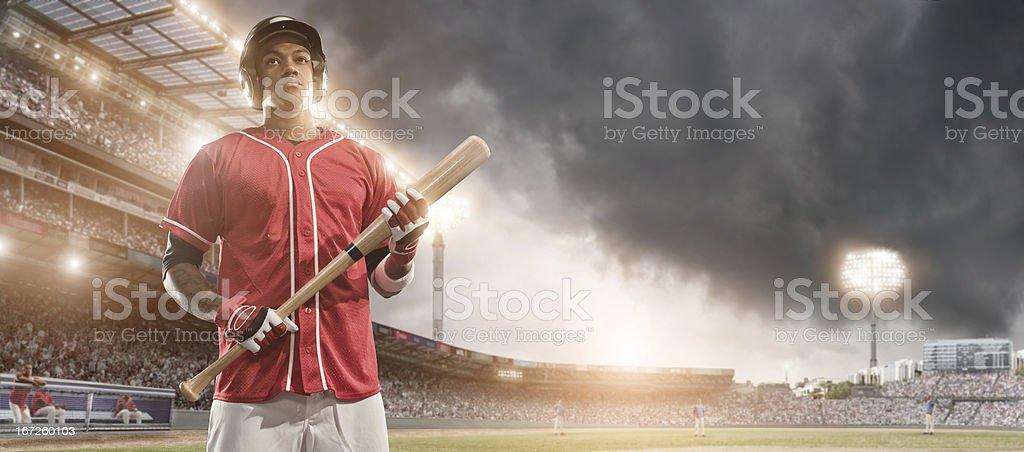 Baseball Hero stock photo