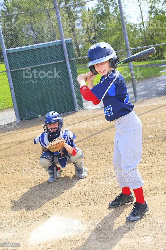 Baseball - Hitter royalty-free stock photo