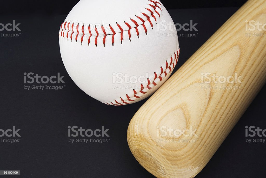 Baseball in my heart royalty-free stock photo