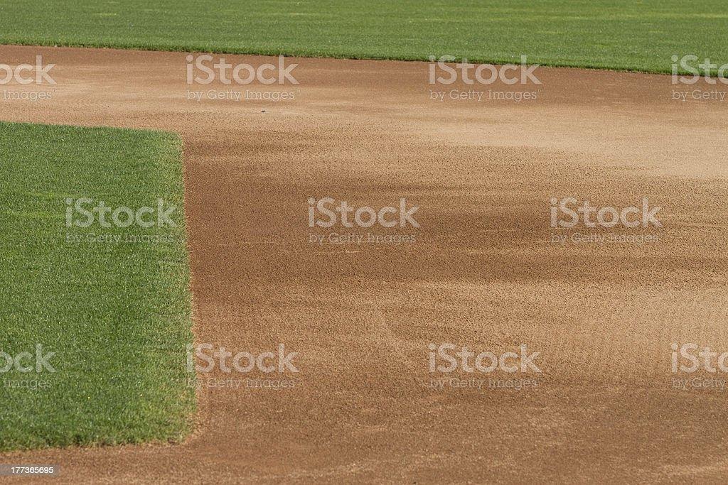 Baseball Infield royalty-free stock photo