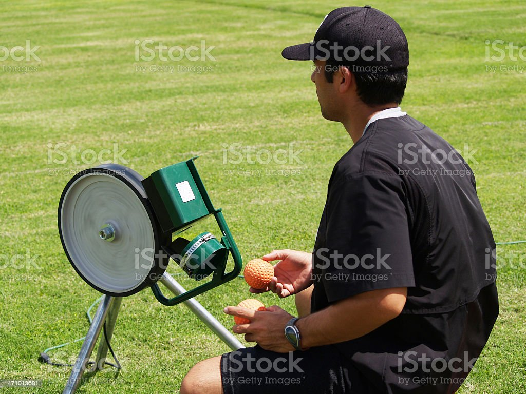 Baseball Instruction stock photo