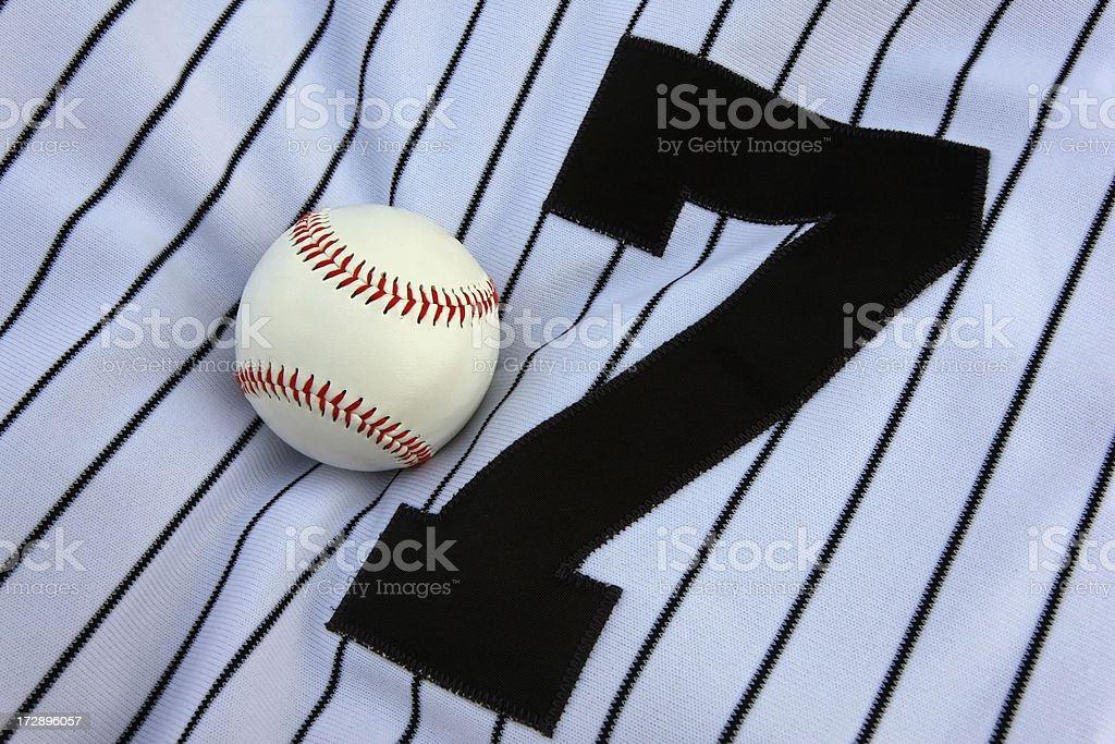 Baseball Jersey royalty-free stock photo