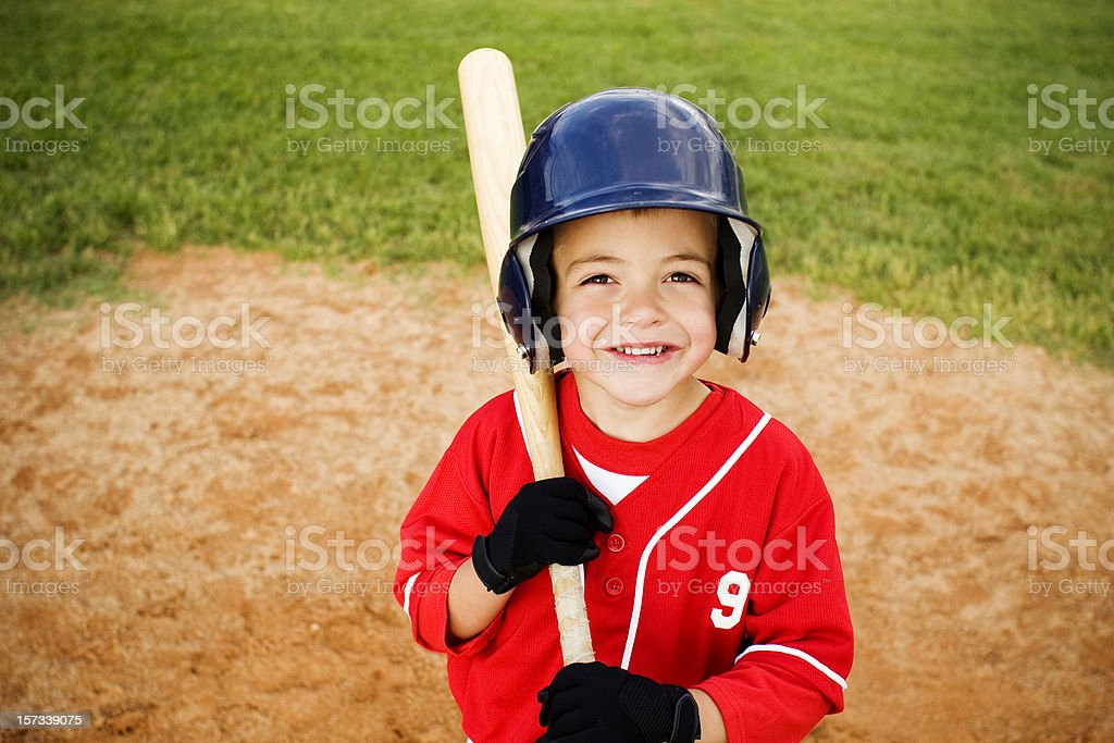 Baseball Kid stock photo