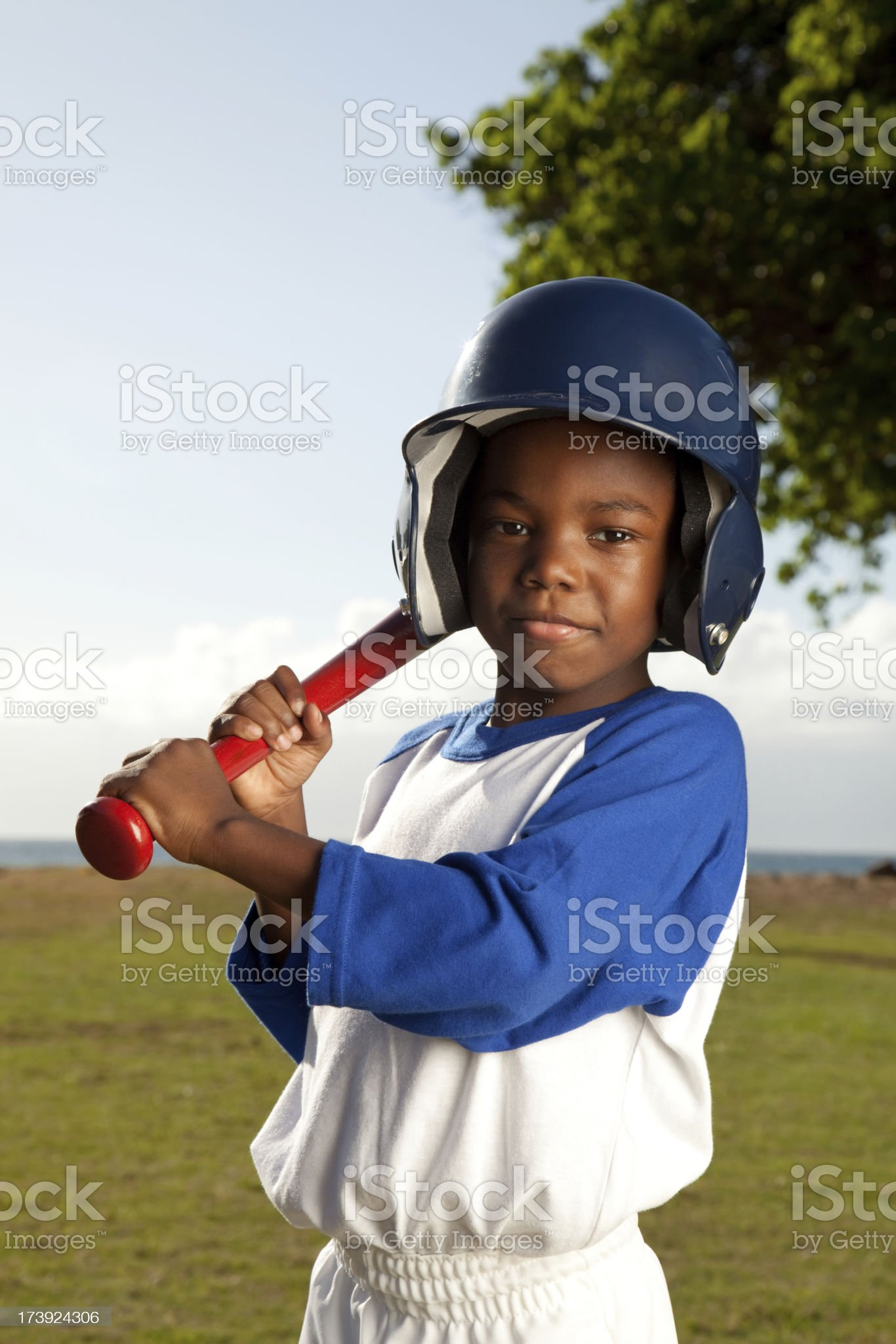 Baseball Kid royalty-free stock photo
