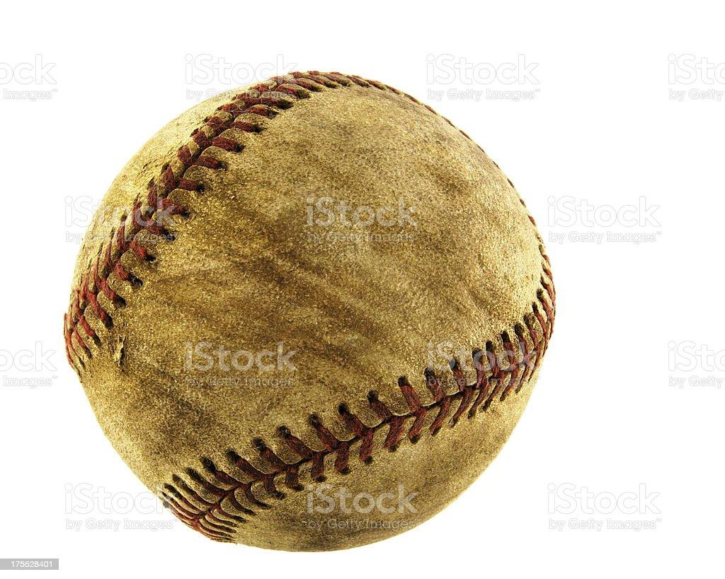 Baseball Leather Thread Sports Ball stock photo