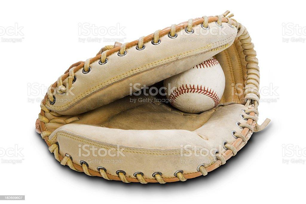 Baseball Mitt royalty-free stock photo