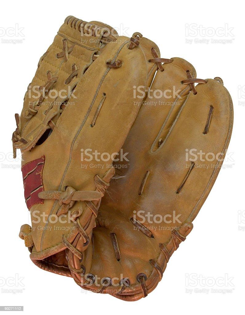 Baseball Mitt stock photo