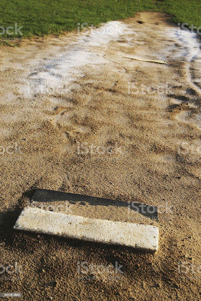 Baseball Mound stock photo