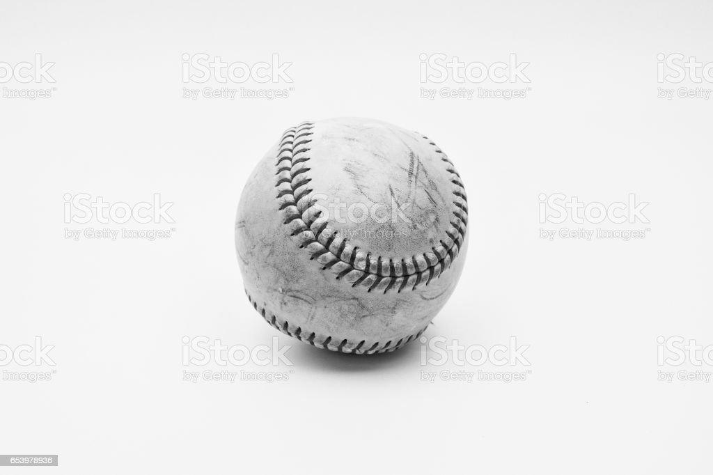 Baseball or softball stock photo