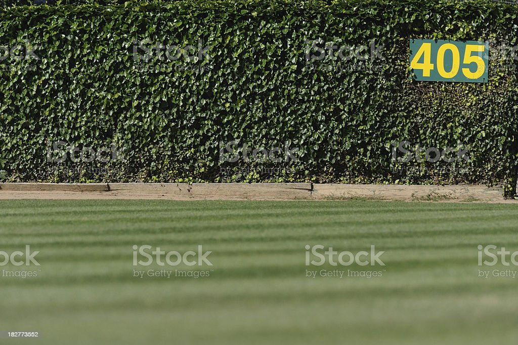 Baseball Outfield stock photo