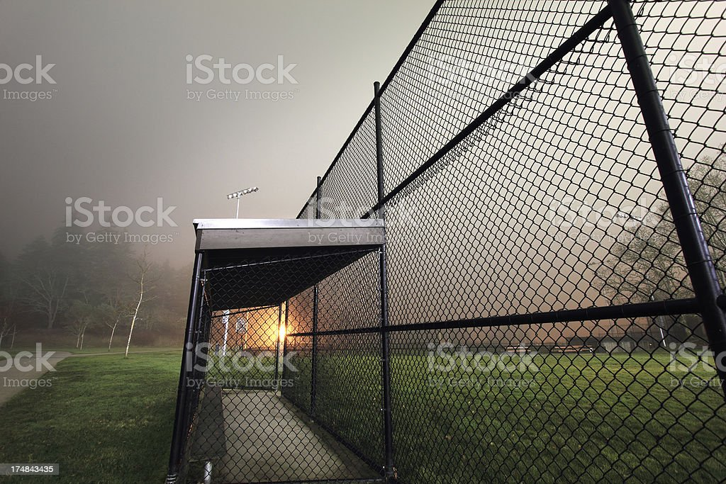 Baseball Park stock photo
