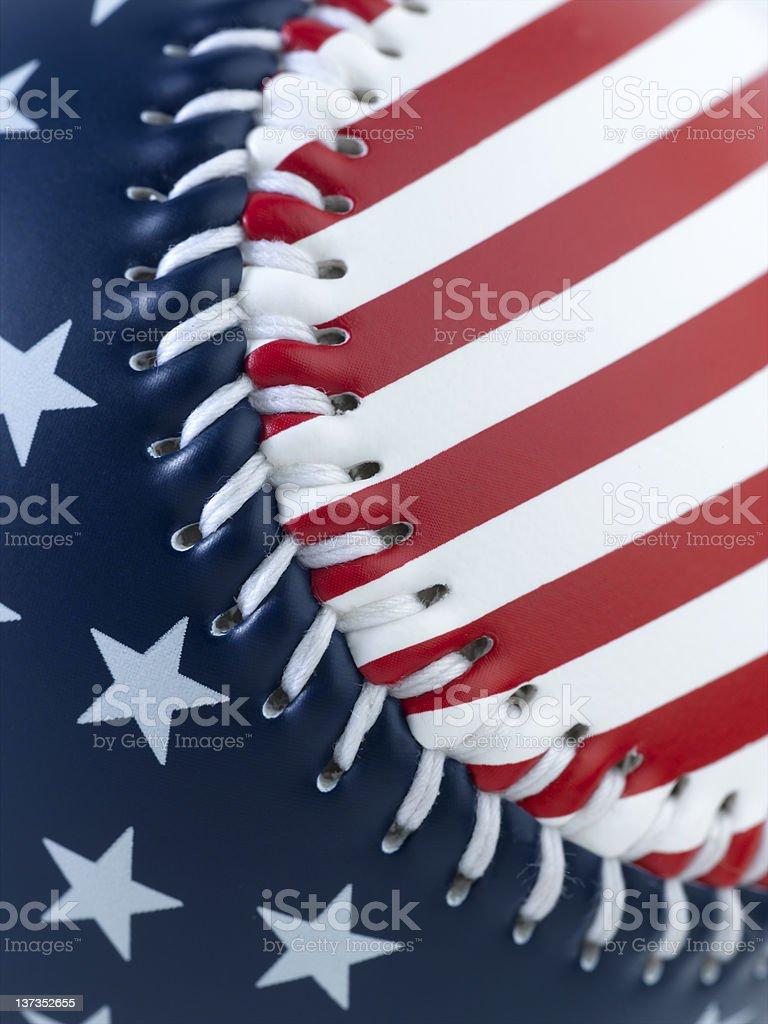 USA Baseball royalty-free stock photo