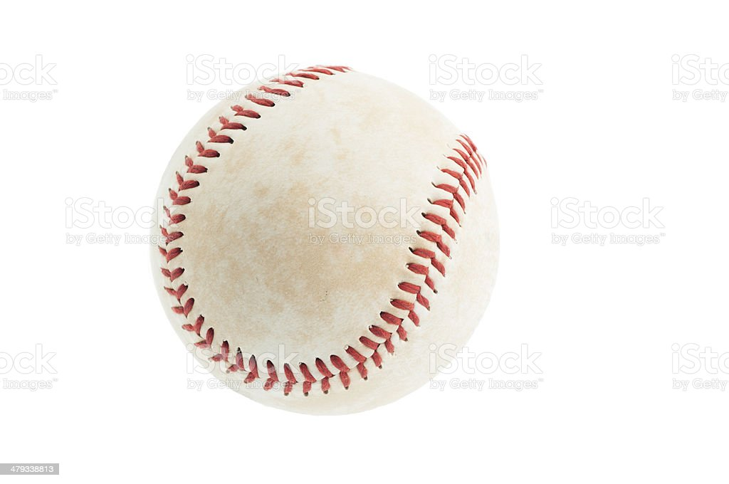 Baseball (with Clipping Path) stock photo