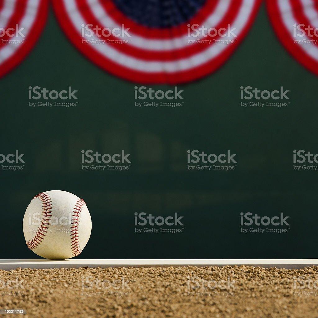 Baseball - Pitcher's Mound World Series stock photo