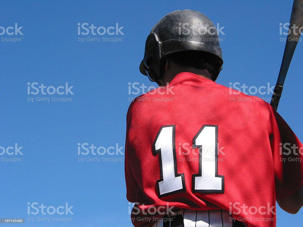 Baseball Player - #11 royalty-free stock photo