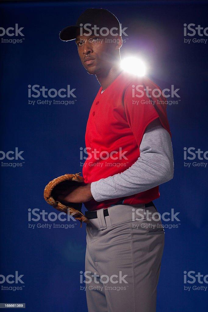 Baseball player royalty-free stock photo