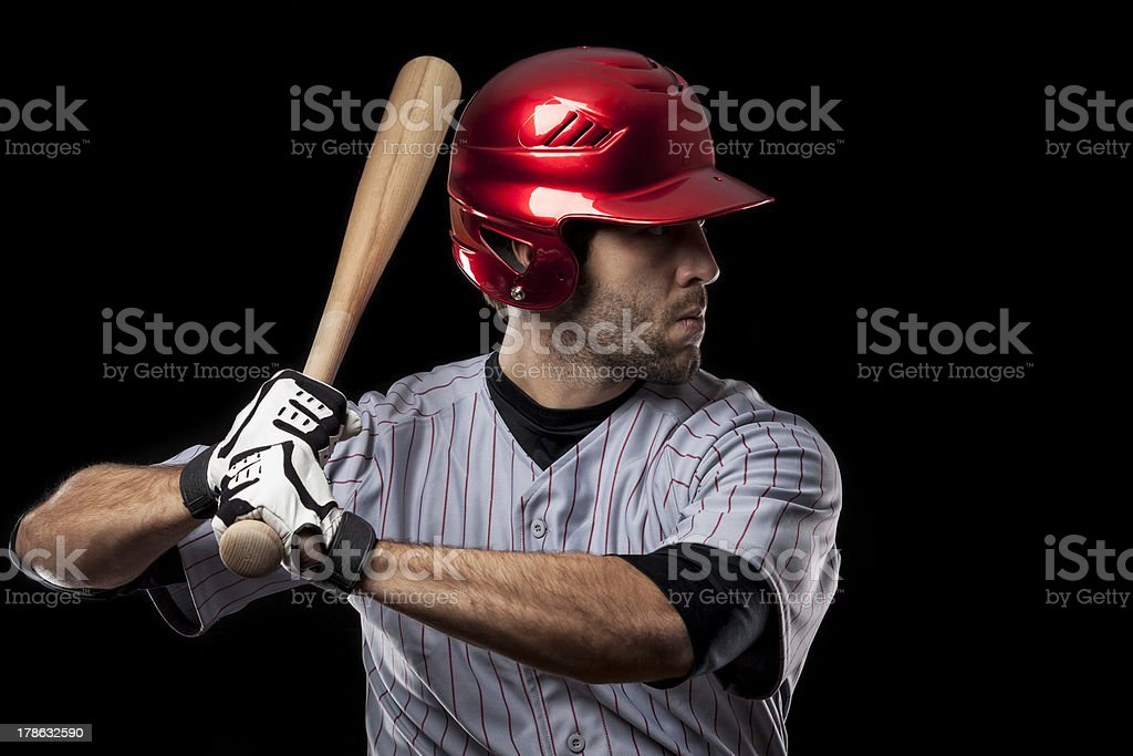 baseball Player royalty-free stock photo