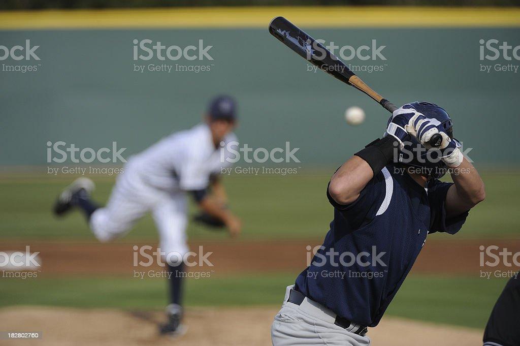 Baseball player stock photo